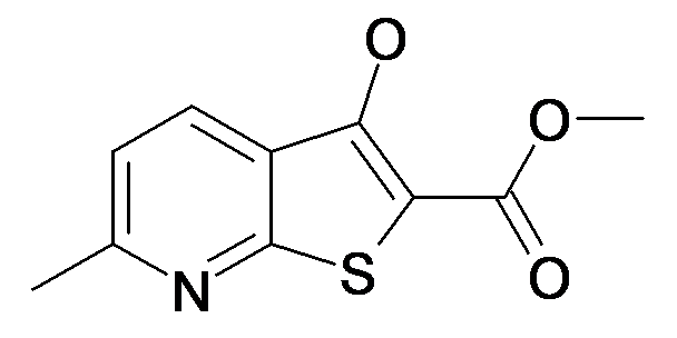 3-Hydroxy-6-methyl-thieno[2,3-b]pyridine-2-carboxylic acid methyl ester