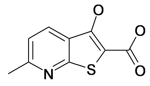 3-Hydroxy-6-methyl-thieno[2,3-b]pyridine-2-carboxylic acid