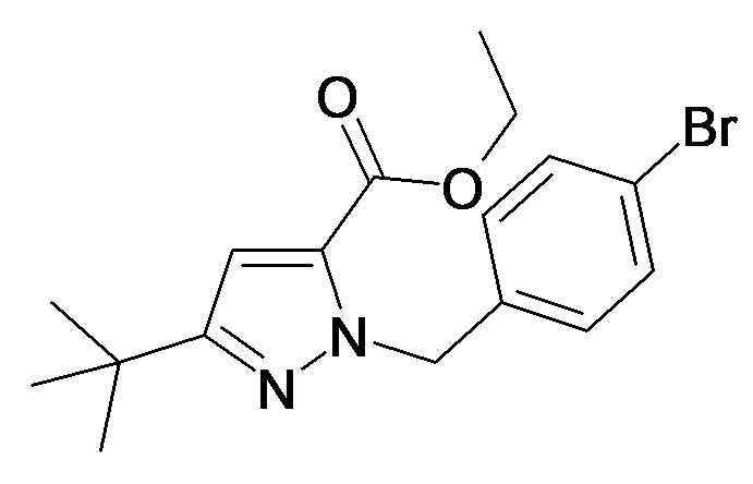 2-(4-Bromo-benzyl)-5-tert-butyl-2H-pyrazole-3-carboxylic acid ethyl ester