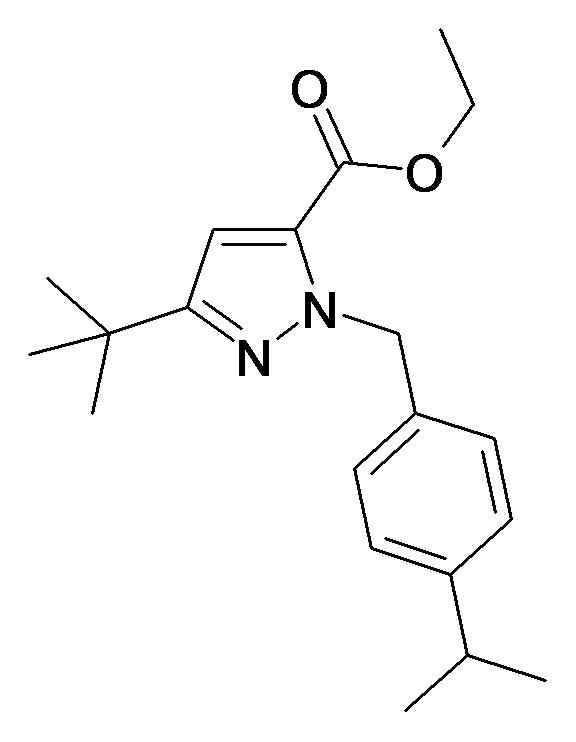 5-tert-Butyl-2-(4-isopropyl-benzyl)-2H-pyrazole-3-carboxylic acid ethyl ester