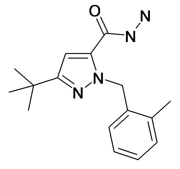 5-tert-Butyl-2-(2-methyl-benzyl)-2H-pyrazole-3-carboxylic acid hydrazide