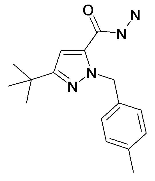5-tert-Butyl-2-(4-methyl-benzyl)-2H-pyrazole-3-carboxylic acid hydrazide