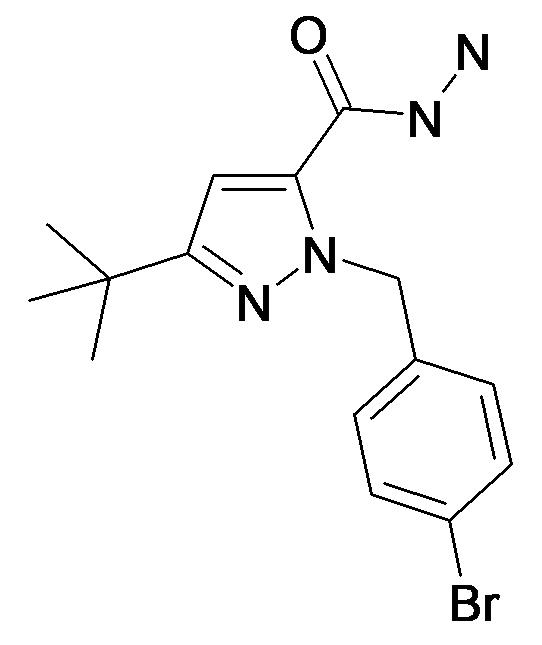 2-(4-Bromo-benzyl)-5-tert-butyl-2H-pyrazole-3-carboxylic acid hydrazide