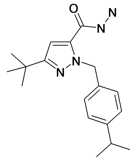 5-tert-Butyl-2-(4-isopropyl-benzyl)-2H-pyrazole-3-carboxylic acid hydrazide
