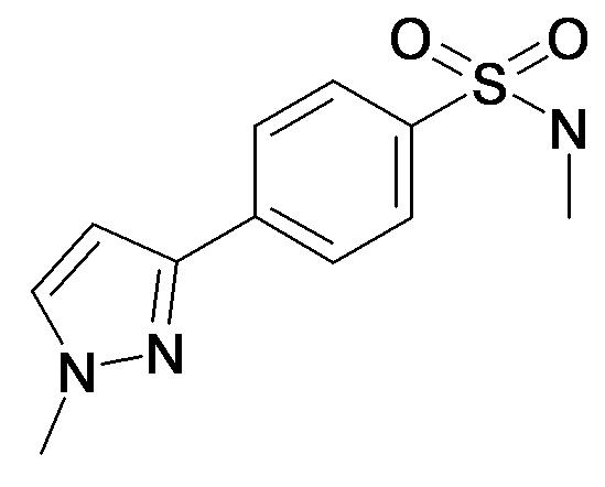 N-Methyl-4-(1-methyl-1H-pyrazol-3-yl)-benzenesulfonamide