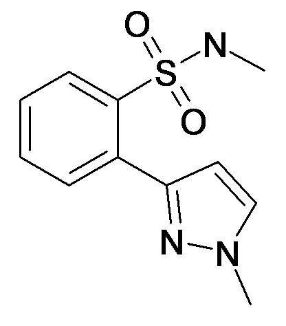 N-Methyl-2-(1-methyl-1H-pyrazol-3-yl)-benzenesulfonamide