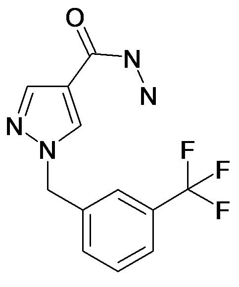 1-(3-Trifluoromethyl-benzyl)-1H-pyrazole-4-carboxylic acid hydrazide