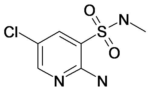 2-Amino-5-chloro-pyridine-3-sulfonic acid methylamide