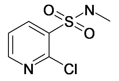2-Chloro-pyridine-3-sulfonic acid methylamide