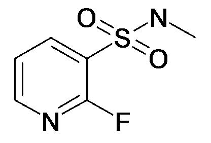 2-Fluoro-pyridine-3-sulfonic acid methylamide