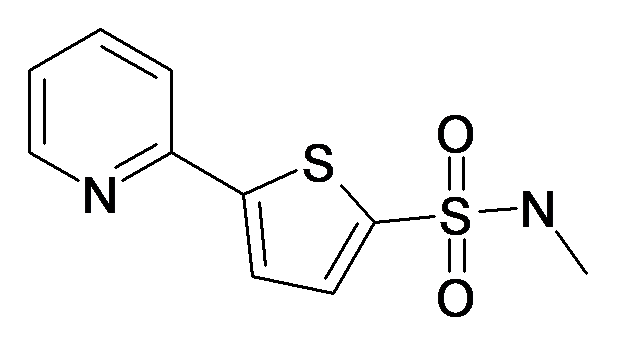 5-Pyridin-2-yl-thiophene-2-sulfonic acid methylamide