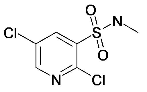 2,5-Dichloro-pyridine-3-sulfonic acid methylamide