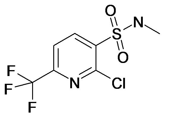 2-Chloro-6-trifluoromethyl-pyridine-3-sulfonic acid methylamide