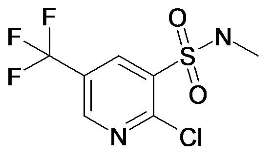 2-Chloro-5-trifluoromethyl-pyridine-3-sulfonic acid methylamide
