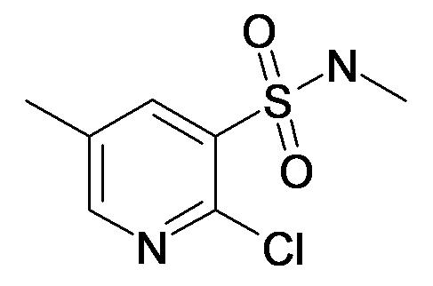 2-Chloro-5-methyl-pyridine-3-sulfonic acid methylamide
