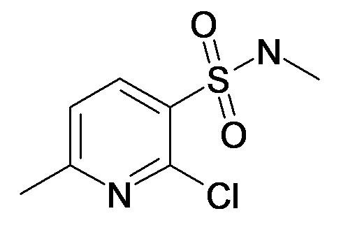 2-Chloro-6-methyl-pyridine-3-sulfonic acid methylamide