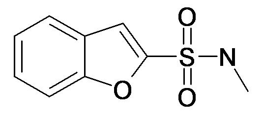 Benzofuran-2-sulfonic acid methylamide