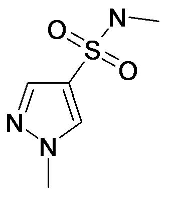1-Methyl-1H-pyrazole-4-sulfonic acid methylamide