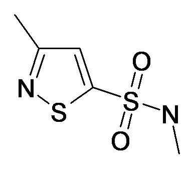 3-Methyl-isothiazole-5-sulfonic acid methylamide