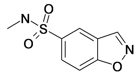 Benzo[d]isoxazole-5-sulfonic acid methylamide