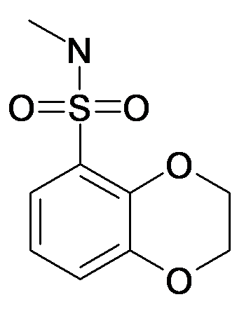 2,3-Dihydro-benzo[1,4]dioxine-5-sulfonic acid methylamide