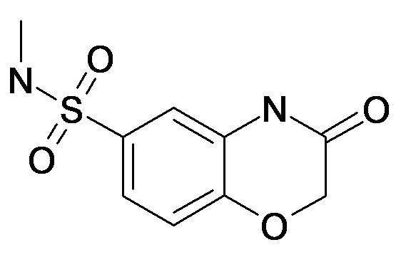 3-Oxo-3,4-dihydro-2H-benzo[1,4]oxazine-6-sulfonic acid methylamide