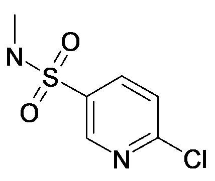6-Chloro-pyridine-3-sulfonic acid methylamide
