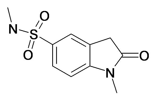1-Methyl-2-oxo-2,3-dihydro-1H-indole-5-sulfonic acid methylamide
