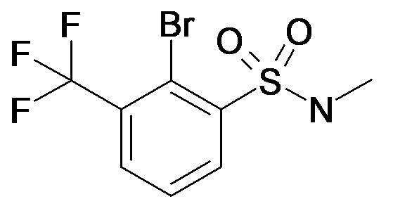 2-Bromo-N-methyl-3-trifluoromethyl-benzenesulfonamide