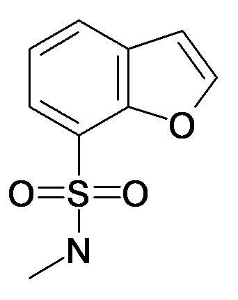 Benzofuran-7-sulfonic acid methylamide