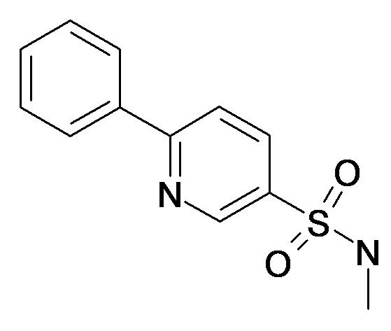 6-Phenyl-pyridine-3-sulfonic acid methylamide