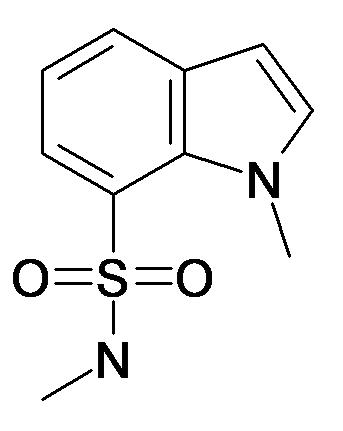 1-Methyl-1H-indole-7-sulfonic acid methylamide