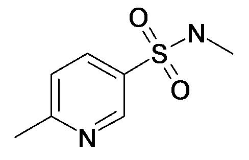 6-Methyl-pyridine-3-sulfonic acid methylamide