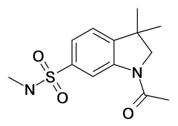 1-Acetyl-3,3-dimethyl-2,3-dihydro-1H-indole-6-sulfonic acid methylamide