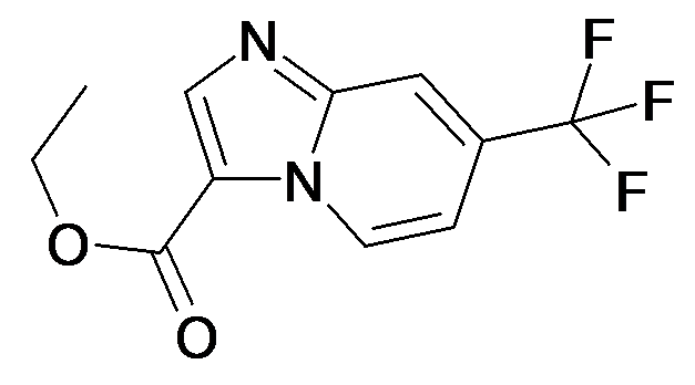 7-Trifluoromethyl-imidazo[1,2-a]pyridine-3-carboxylic acid ethyl ester