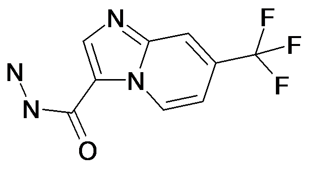 7-Trifluoromethyl-imidazo[1,2-a]pyridine-3-carboxylic acid hydrazide