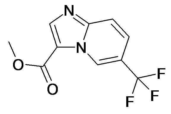 6-Trifluoromethyl-imidazo[1,2-a]pyridine-3-carboxylic acid methyl ester
