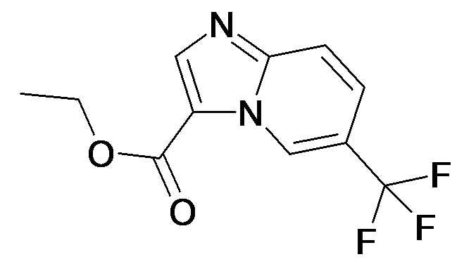 6-Trifluoromethyl-imidazo[1,2-a]pyridine-3-carboxylic acid ethyl ester