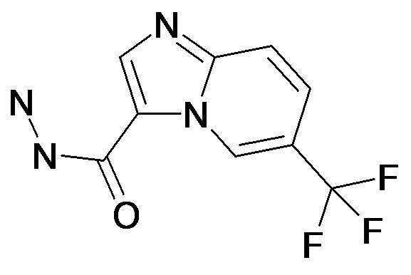 6-Trifluoromethyl-imidazo[1,2-a]pyridine-3-carboxylic acid hydrazide