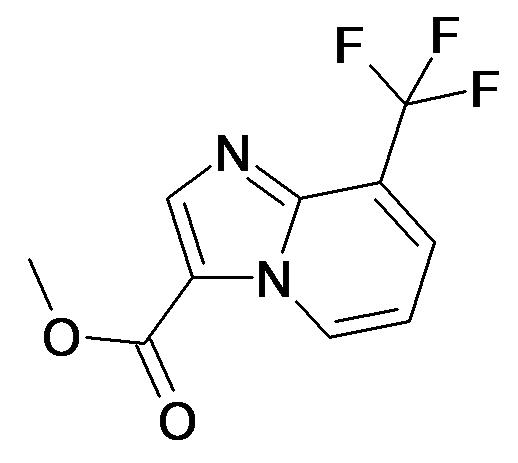 8-Trifluoromethyl-imidazo[1,2-a]pyridine-3-carboxylic acid methyl ester