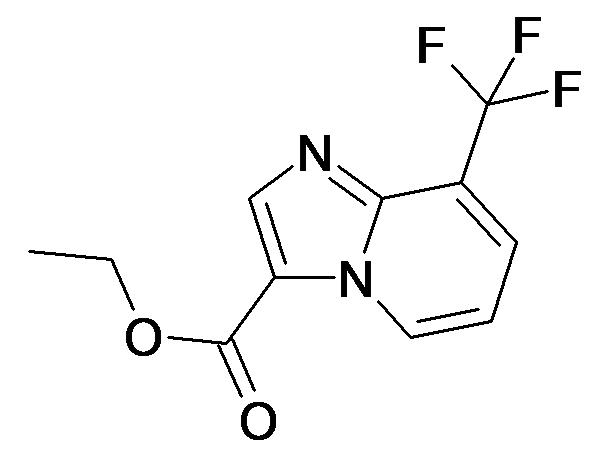 8-Trifluoromethyl-imidazo[1,2-a]pyridine-3-carboxylic acid ethyl ester