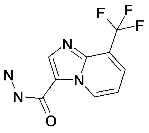 8-Trifluoromethyl-imidazo[1,2-a]pyridine-3-carboxylic acid hydrazide