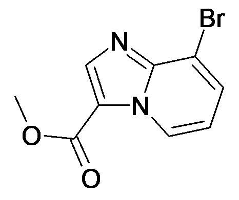 8-Bromo-imidazo[1,2-a]pyridine-3-carboxylic acid methyl ester