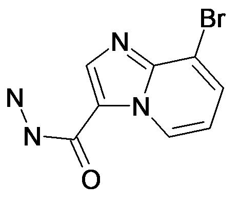 8-Bromo-imidazo[1,2-a]pyridine-3-carboxylic acid hydrazide