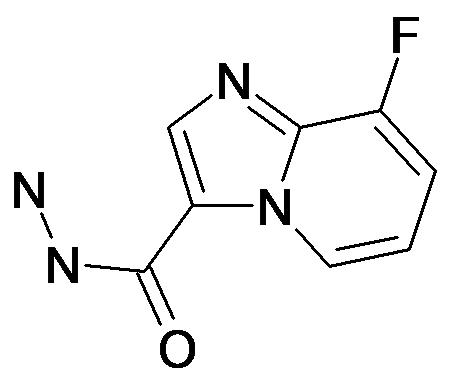 8-Fluoro-imidazo[1,2-a]pyridine-3-carboxylic acid hydrazide