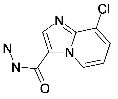8-Chloro-imidazo[1,2-a]pyridine-3-carboxylic acid hydrazide