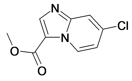 7-Chloro-imidazo[1,2-a]pyridine-3-carboxylic acid methyl ester