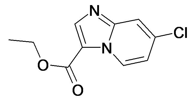 7-Chloro-imidazo[1,2-a]pyridine-3-carboxylic acid ethyl ester