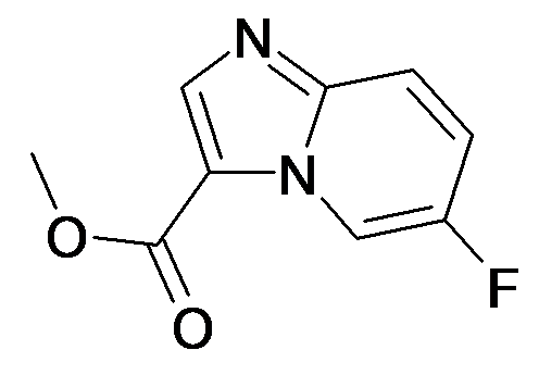 6-Fluoro-imidazo[1,2-a]pyridine-3-carboxylic acid methyl ester