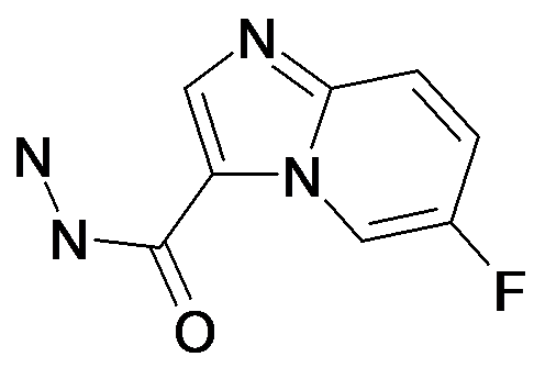 6-Fluoro-imidazo[1,2-a]pyridine-3-carboxylic acid hydrazide